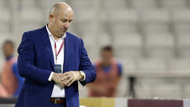 Сегодня. Доха. Катар - Россия - 2:1. Станислав ЧЕРЧЕСОВ.