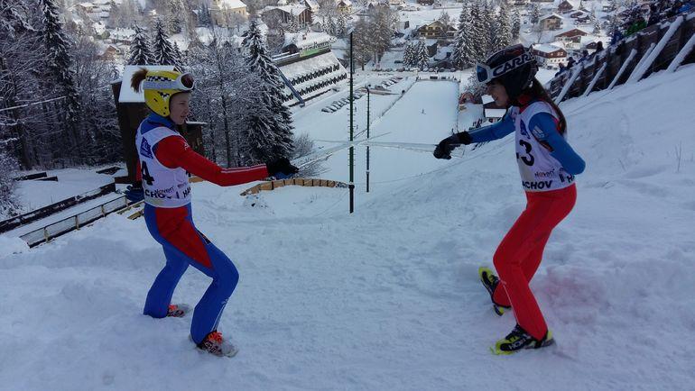 Возможно, уже на зимней Олимпиаде-2022 в Пекине российские девушки смогут побороться за медали в лыжном двоеборье. Фото из архива Александра Колчанова