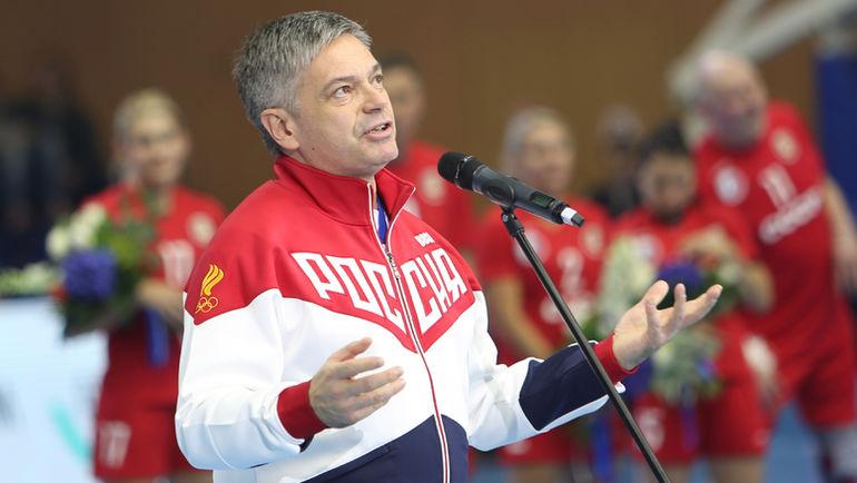 Президент Федерации гандбола России Сергей ШИШКАРЕВ. Фото Татьяна ФЕДОСОВА