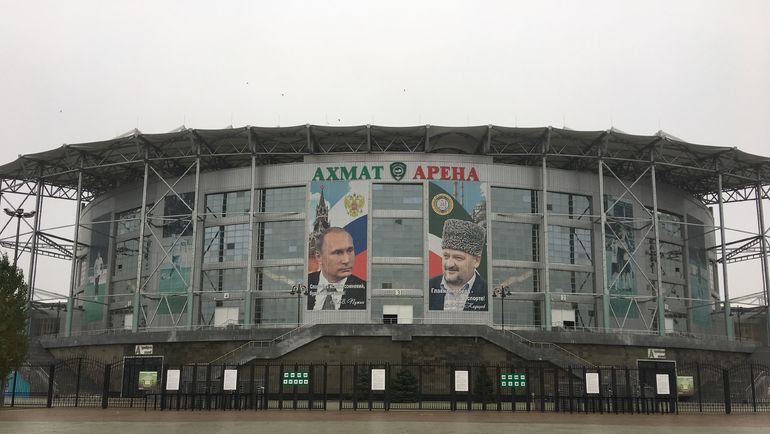 """""""Ахмат Арена"""". Фото Гоша ЧЕРНОВ, """"СЭ"""""""