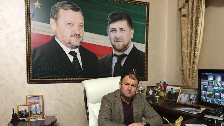 "Магамед МАЦУЕВ. Фото Гоша ЧЕРНОВ, ""СЭ"""