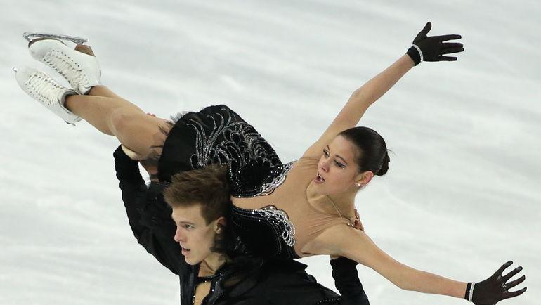 Елена ИЛЬИНЫХ и Никита КАЦАЛАПОВ. Фото ИТАР-ТАСС