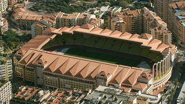 "Стадион ""Луи II"" - домашняя арена ""Монако""."