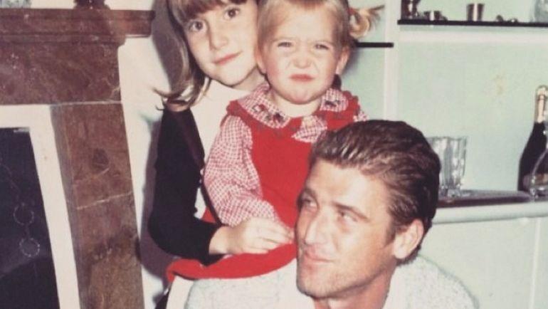 Массимо КАРРЕРА со своими дочерьми Мартиной и Франческой. Фото instagram.com