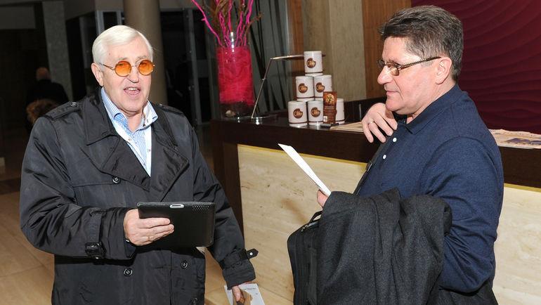 Сергей МАКАРОВ и Борис МИХАЙЛОВ. Фото photo.khl.ru