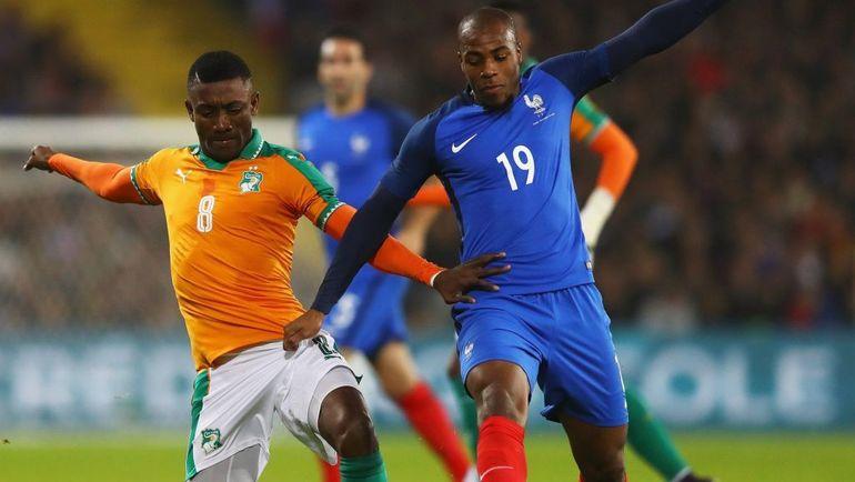 Соломон КАЛУ (№8) - один из самых известных игроков африканской сборной. Фото Twitter