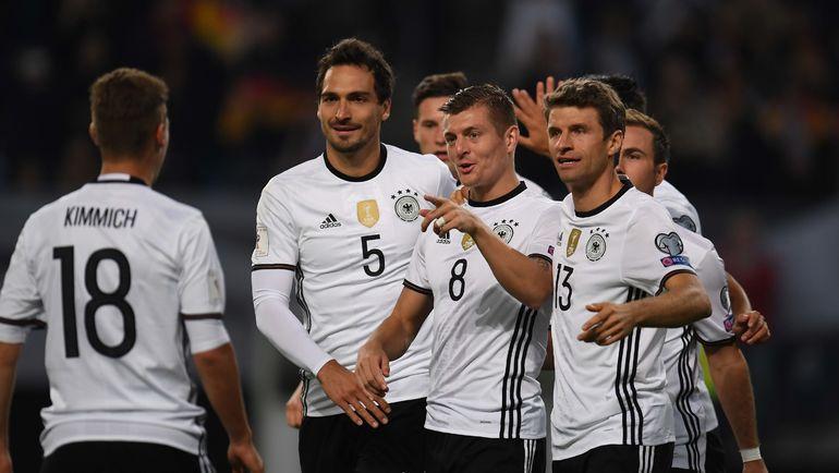 Германия: защитить титул. Фото AFP