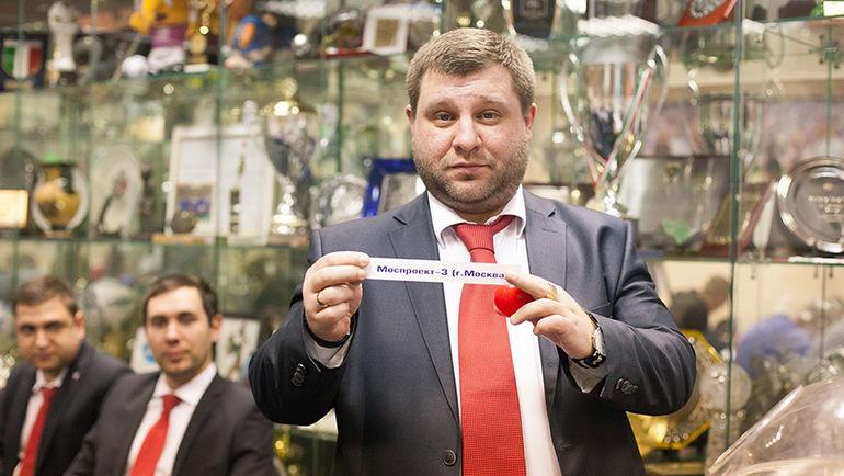 Стали известны результаты жеребьевки II Кубка России среди корпораций.