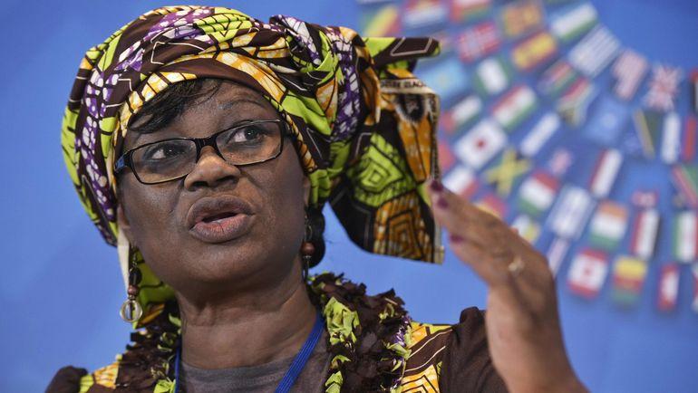 Министр экономики и финансов Буркина-Фасо Розине СОРИ-КУЛИБАЙ. Фото AFP