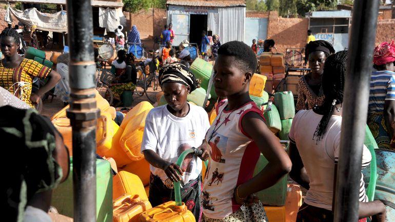 В Буркина-Фасо очень низкий уровень грамотности населения. Фото AFP