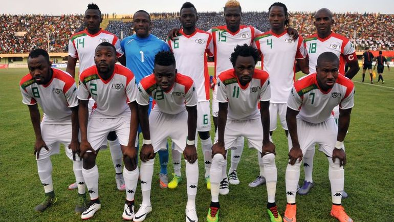 Сборная Буркина-Фасо. Фото AFP