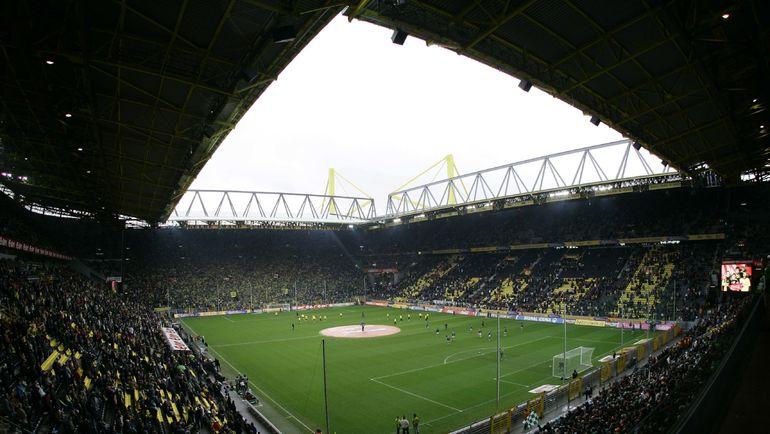 """""""Вестфаленштадион"""" в Дортмунде. Фото Reuters"""