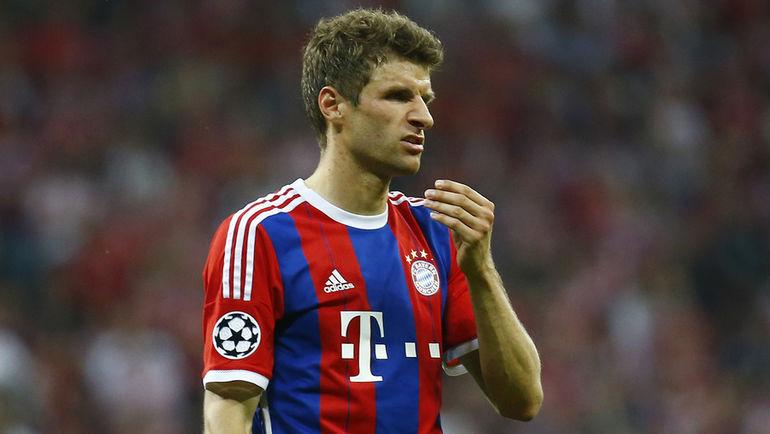 Томас МЮЛЛЕР не забил ни одного мяча в бундеслиге. Фото Reuters