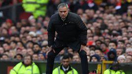 "Сегодня. Манчестер. ""Манчестер Юнайтед"" - ""Арсенал"" - 1:1. Жозе МОУРИНЬЮ."