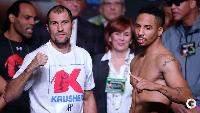 Сегодня. Лас-Вегас. Сергей КОВАЛЕВ (слева) и Андре УОРД.