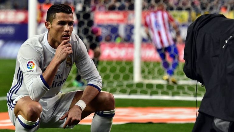 """Суббота. Мадрид. """"Атлетико"""" – """"Реал"""" – 0:3. КРИШТИАНУ РОНАЛДУ."""