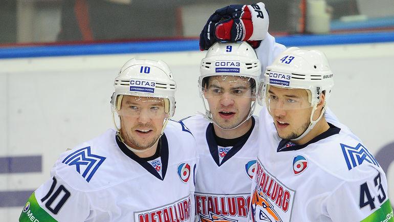 Сергей МОЗЯКИН, Виктор АНТИПИН и Ян КОВАРЖ (слева направо). Фото Антон СЕРГИЕНКО