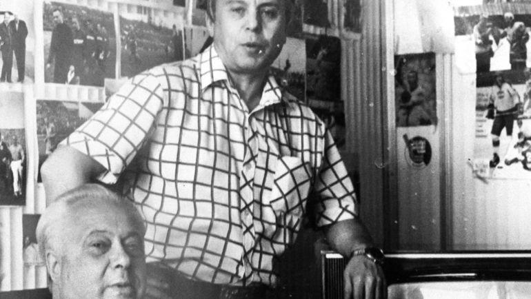 Владимир ПЕРЕТУРИН и Николай ОЗЕРОВ. Фото из архива Владимира Перетурина