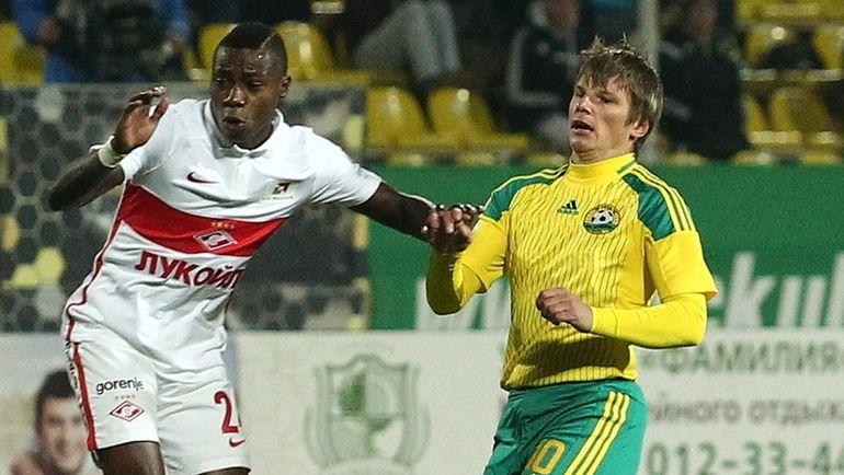 Квинси ПРОМЕС (слева) и Андрей АРШАВИН. Фото Виталий ТИМКИВ