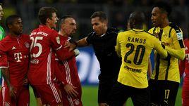 """Суббота. Дортмунд. """"Боруссия"""" Д - """"Бавария"""" - 1:0. Мюнхенцы потерпели первое поражение в сезоне."""