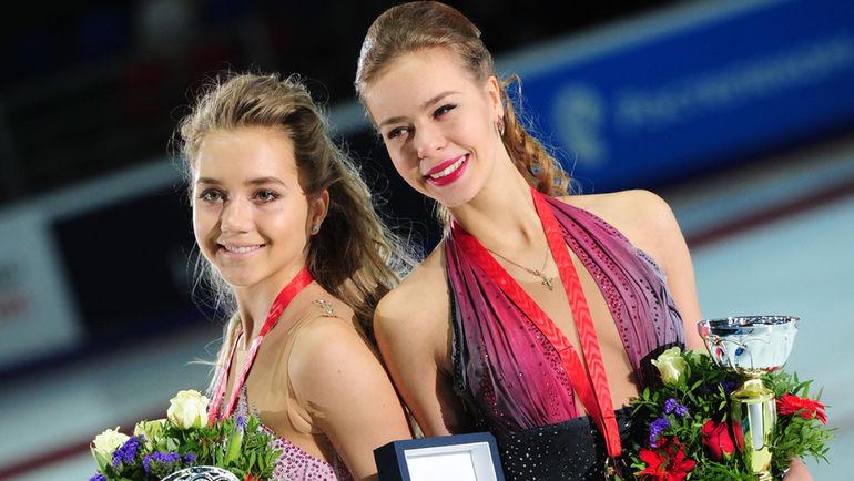 Анна ПОГОРИЛАЯ (справа) и Елена РАДИОНОВА. Фото Федор УСПЕНСКИЙ, «СЭ»