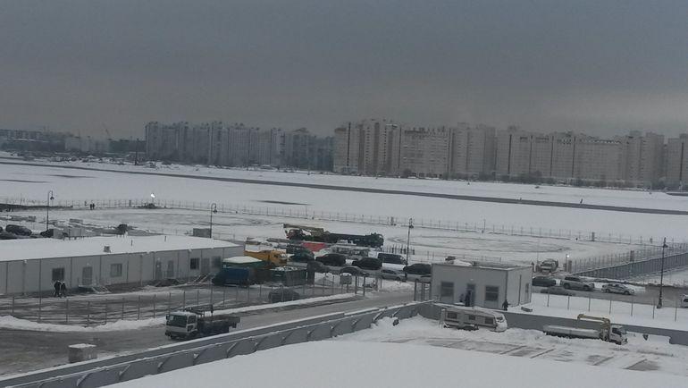 Вертолетная площадка. Фото Сергей ЦИММЕРМАН, «СЭ»