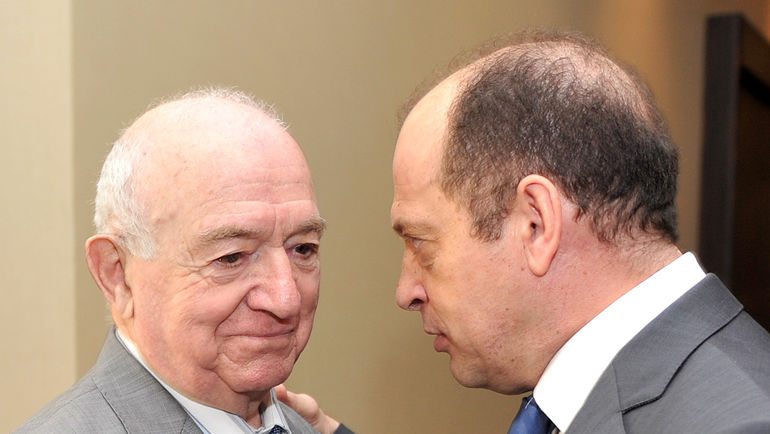 Никита СИМОНЯН и Сергей ПРЯДКИН. Фото Татьяна ДОРОГУТИНА