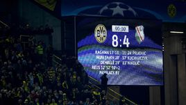 """Вторник. Дортмунд. """"Боруссия"""" и """"Легия"""" побили рекорд Лиги чемпионов по результативности в одном матче."""