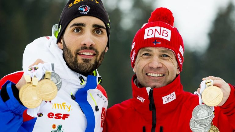 Мартен ФУРКАД (слева) и Оле-Эйнар БЬОРНДАЛЕН. Фото Reuters