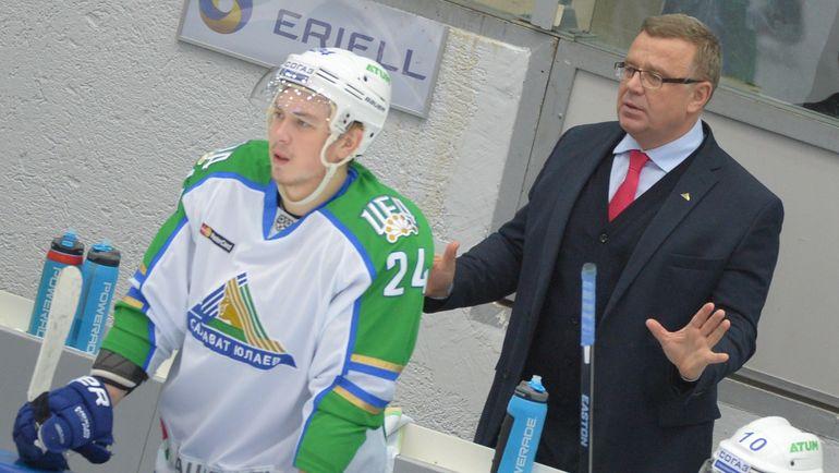 Игорь ЗАХАРКИН (справа). Фото photo.khl.ru