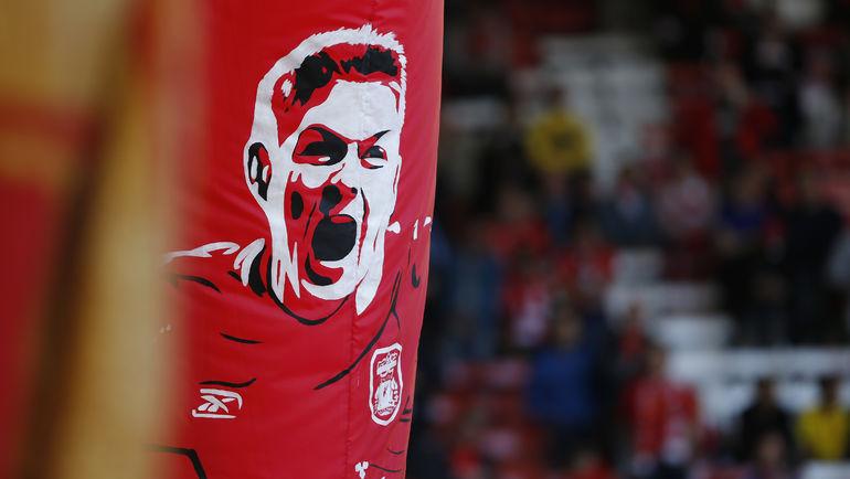 """Стивен Джеррард долгое время был лицом """"Ливерпуля"""". Фото REUTERS"""
