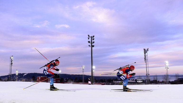Евгений ГАРАНИЧЕВ и Антон ШИПУЛИН. Фото AFP