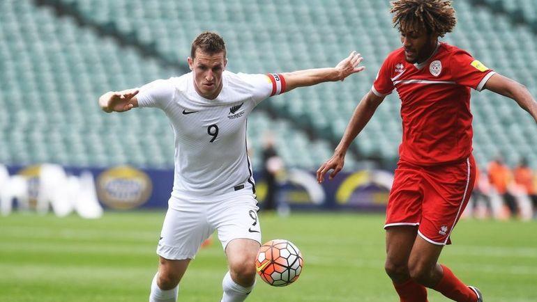 Один из лидеров сборной Новой Зеландии Крис ВУД (слева). Фото nzfootball.co.nz