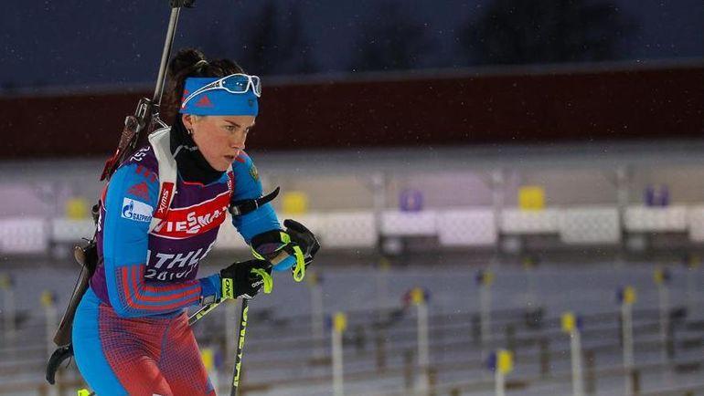 Светлана СЛЕПЦОВА. Фото biathlonrus.com