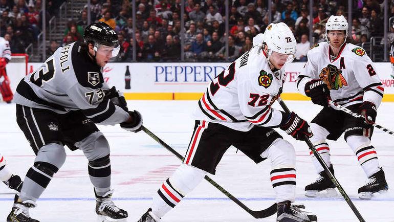 "Суббота. Лос-Анджелес. ""Лос-Анджелес"" - ""Чикаго"" - 2:1 ОТ. Артемий ПАНАРИН (№72). Фото NHL.com"