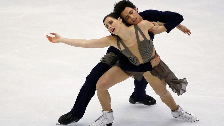 Тесса ВИРТУ и Скотт МОИР. Фото Reuters