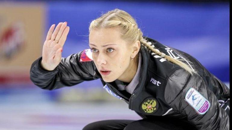 Скип сборной России, чемпионка Европы Виктория МОИСЕЕВА. Фото worldcurling.org
