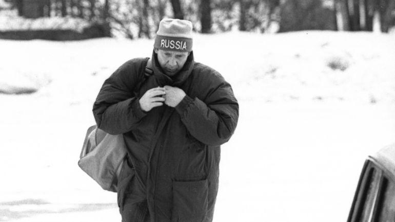 1994 год. Новый тренер сборной России Олег РОМАНЦЕВ. Фото «СЭ»