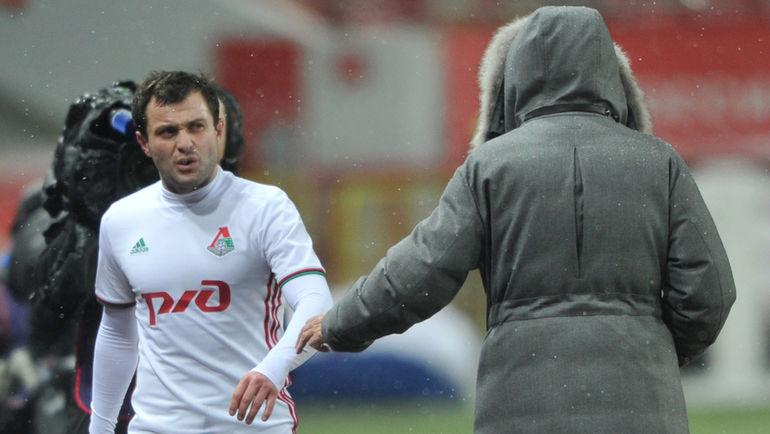 "Юрий СЕМИН (справа) и Алан КАСАЕВ. Фото Федор УСПЕНСКИЙ, ""СЭ"""