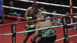 Победа Гассиева над Лебедевым,  нокаут Трояновского