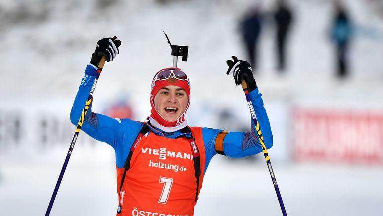 Победный финиш Антона БАБИКОВА. Фото AFP