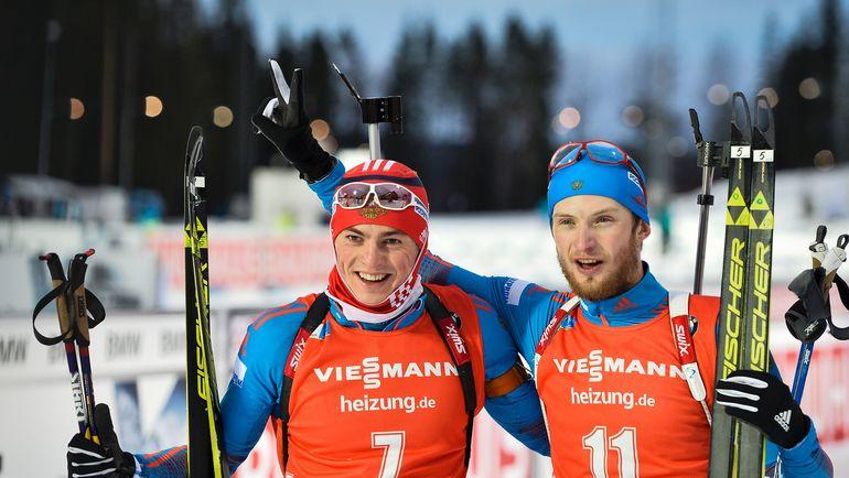 Антон БАБИКОВ и Максим ЦВЕТКОВ. Фото AFP