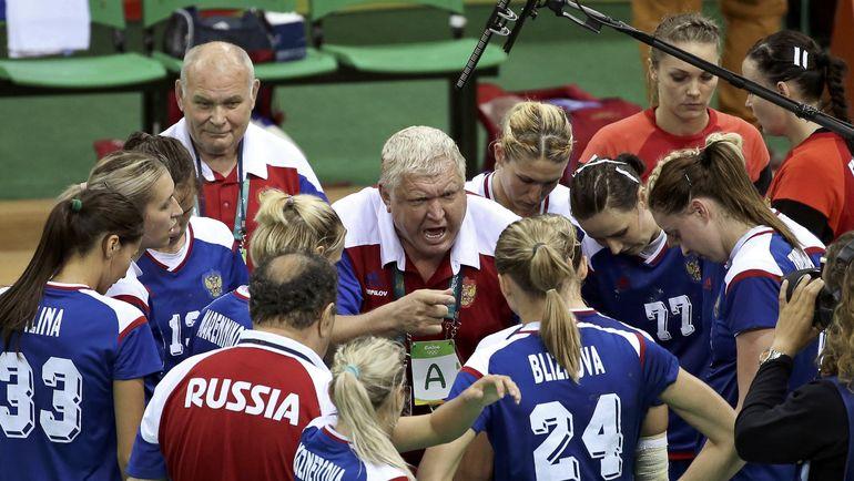 Август 2016 года. Рио-де-Жанейро. Евгений ТРЕФИЛОВ и его команда на Олимпиаде. Фото Reuters