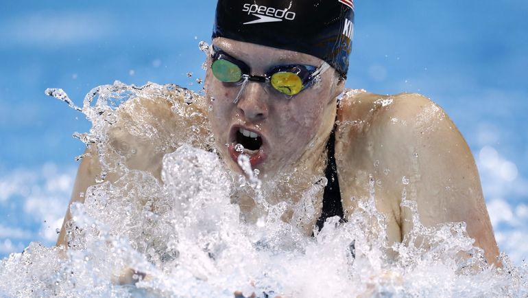 Олимпийская чемпионка Лилли КИНГ тоже выступит на чемпионате мира. Фото AFP