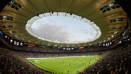 """Вид на стадион """"Краснодара""""."""