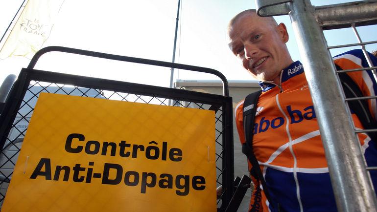 Микаэль РАСМУССЕН - один из тех, кто откровенно рассказал о допинг-проблеме. Фото AFP
