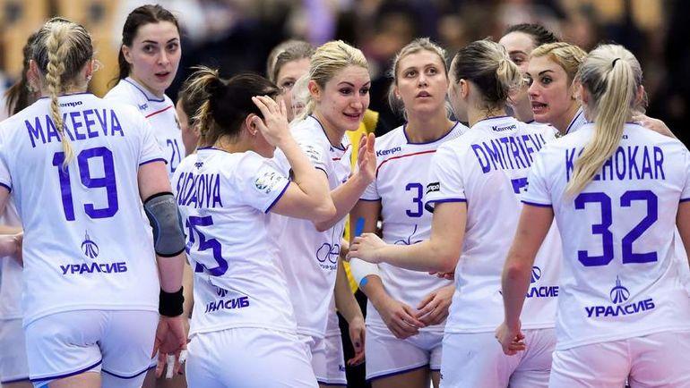 Понедельник. Хельсингборг. Россия - Хорватия - 32:26. Россиянки празднуют победу. Фото AFP