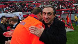 Евгений ГИНЕР (справа) и Леонид СЛУЦКИЙ.