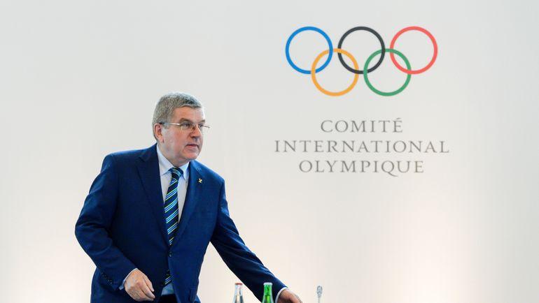 Глава МОК Томас БАХ. Фото Reuters