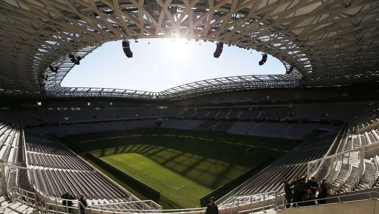 """Вид на домашний стадион """"Ниццы"""" Allianz Riviera. Фото Reuters"""